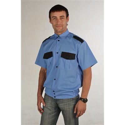 """Рубашка """"Охран-1"""" короткий рукав"""